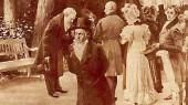 در سال ۱۸۱۲ امکان ملاقات بتهوون و گوته در شهر تپلیتس فراهم شد. تابلویی از این ملاقات هنوز موجود است. در حالی که گوته سر خود را به احترام برای یکی از شاهزادگان فرود آورده، بتهوون با سری افراشته و بدون اهمیت دادن به آنها از کنارشان میگذرد.
