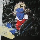 پرترهای که یوزف کارل اشتیلرز از بتهوون کشیده حالتی اسطورهای به او داده و به همین دلیل بعدها مورد استفاده هنرمندان دیگر بخصوص هنرمندان پاپ آرت قرار گرفته است. بی سبب نیست که اندی وارهول، بنیانگذار هنر پاپ در دهه ۱۹۵۰ در آمریکا، کمی قبل از مرگ خود در فوریه سال ۱۹۸۷به بتهوون پرداخت.