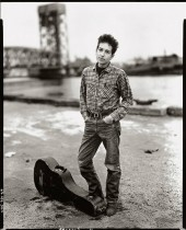 7.Bob Dylan, singer, 132nd street and FDR Drive,New York, November 4, 1963