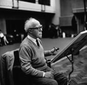 Catalan Composer Roberto Gerhard, 1964