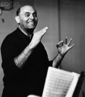 Conductor and pianist Gerog Solti, 1963