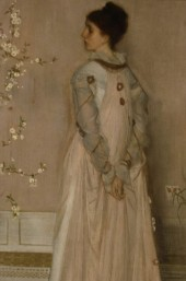 James McNeill Whistler,symphony in flesh colour and pink,portrait of mrs frances leyland,1871-1874,oil on canvas
