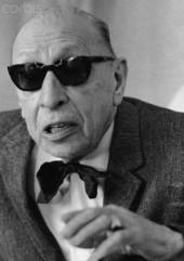 Russian Composer Igor Stravinsky, 1965
