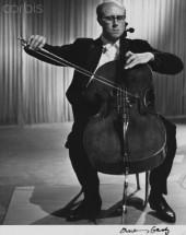 Russian Cellist Mstislav Rostropovich, 1961