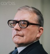 Soviet composer Dimitir Shostakovich 1906-1975