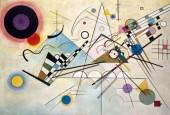 Vasily Kandinsky,Composition 8,July 1923 Oil on canvas