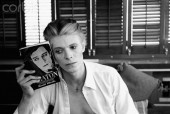 David Bowie Holding Buster Keaton Biography
