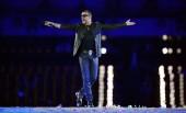 در حال اجرا در مراسم اختتامیه المپیک لندن | 2012 | Photograph: Leon Neal/AFP/Getty Images