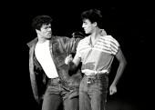 جرج مایکل و اندرو ریدلی در اجرای تلویزیونی | سال 1982 | Photograph: Wolfson/Everett/REX/Shutterstock