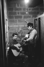 باب دیلن با مارک اسپلسترا ( Mark Spoelstra ) در گرین ویچ ویلِیج