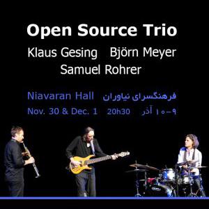 کنسرت تریو اوپن سورس (Open Source Trio)